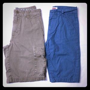 Levi's/Quick Silver Boys Shorts Bundle Size 14